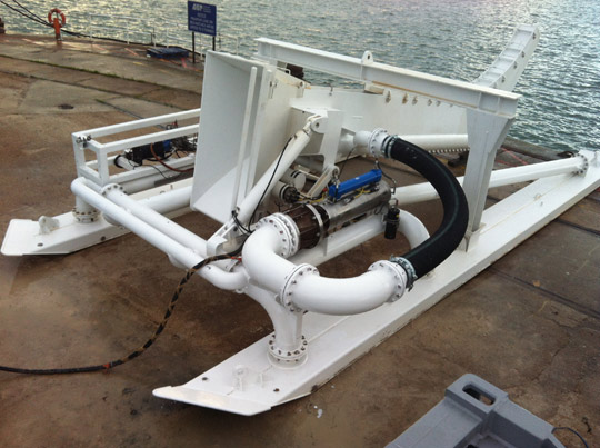 260kw-motor-pump-set-fitted-to-underwater-cable-burial-vehicle
