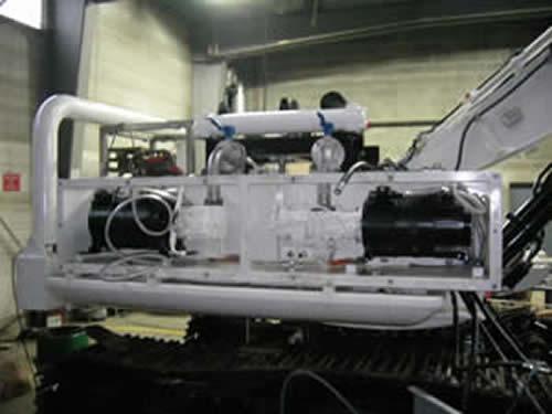 Subsea motors submersible electric motors rov electric for Submersible hydraulic pump motor