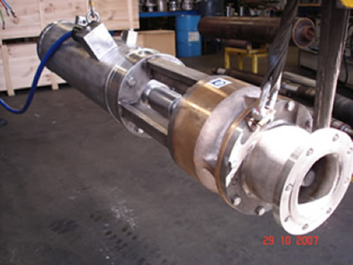 Subsea Motors Water Jetting Motor Pump Sets For